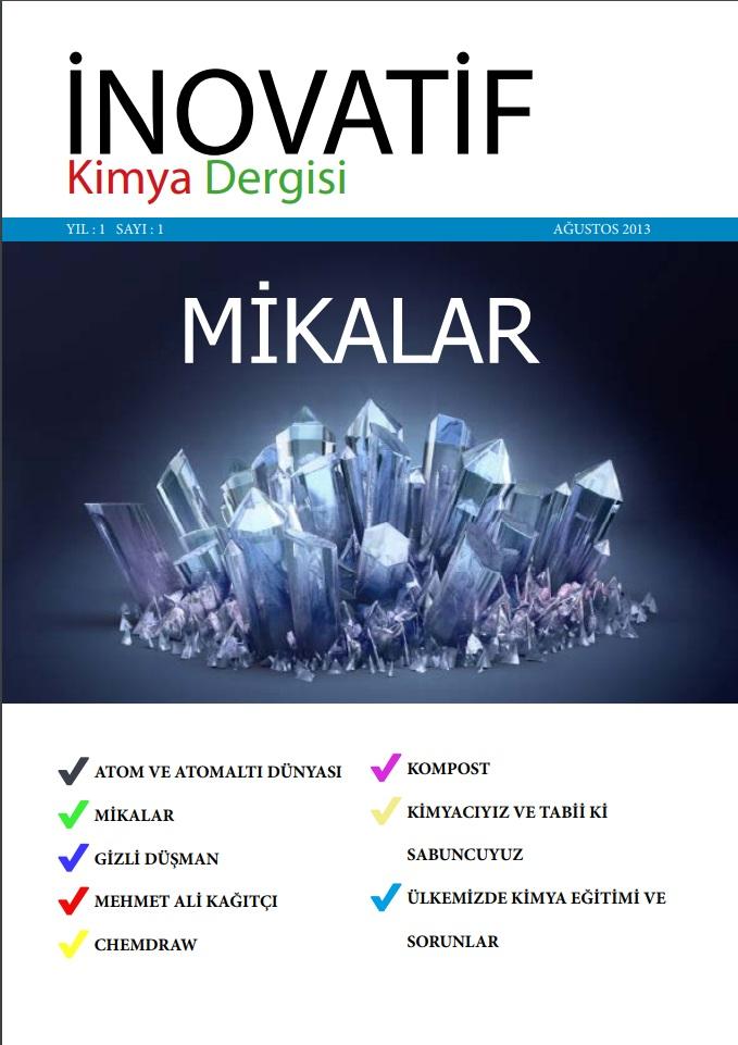 İnovatif Kimya Dergisi Sayı-1