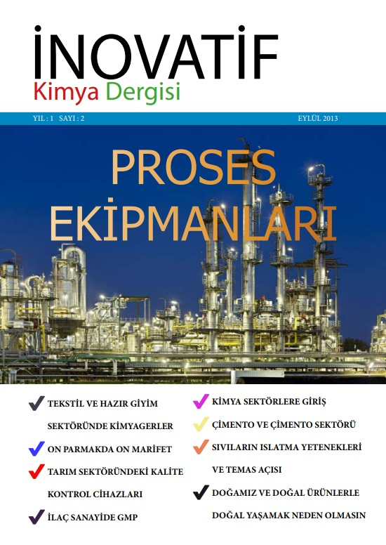 İnovatif Kimya Dergisi Sayı-2
