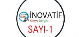 inovatifkimyadergisisayi1 272x125 - İnovatif Kimya Dergisi Sayı-1