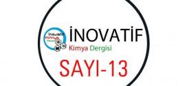 inovatifkimyadergisisayi13 272x125 - İnovatif Kimya Dergisi Sayı-13