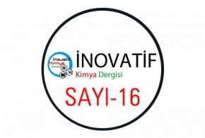 inovatifkimyadergisisayi16 290x195 - İnovatif Kimya Dergisi Sayı-16
