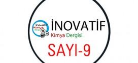 inovatifkimyadergisisayi9 272x125 - İnovatif Kimya Dergisi Sayı-9