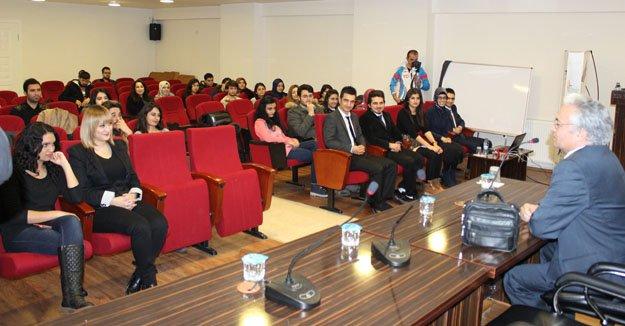 Kimya Mühendisliği Öğrencileri ile Söyleşi