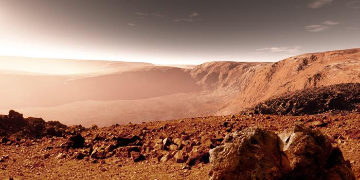Mars atmosferinde yaşam izi bulundu