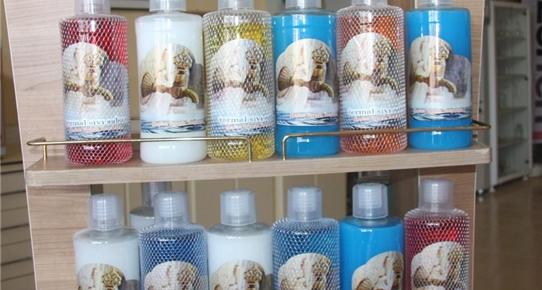 Termal su bileşenlerinden kozmetik ürünleri üretti