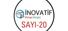 inovatifkimyadergisisayi20 272x125 - İnovatif Kimya Dergisi Sayı-20