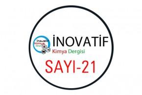 inovatifkimyadergisisayi21 290x195 - İnovatif Kimya Dergisi Sayı-21