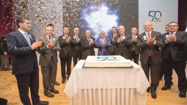 Petkim 50. yaşını yatırımla kutluyor