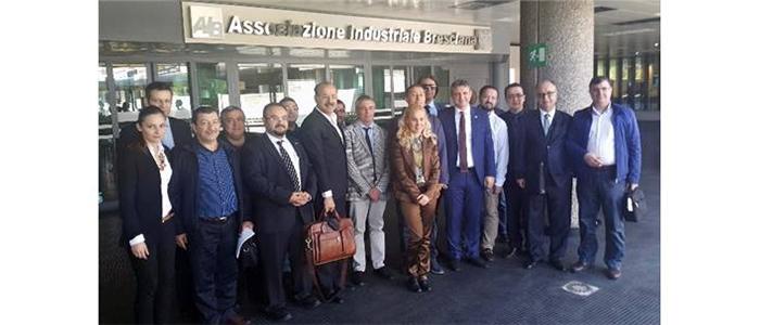 GSO Plastik Üreticileri İtalya'dan Döndü