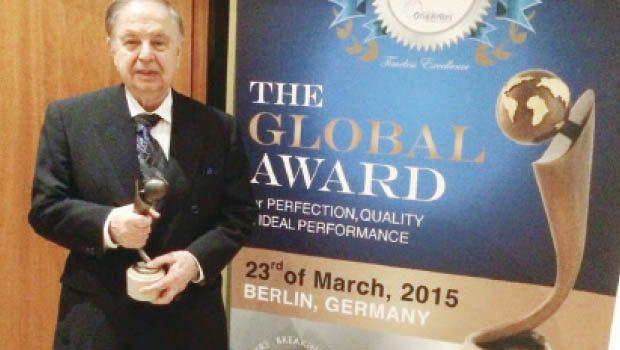 'Küresel Mükemmellik' ödülü Sayman Kimya'ya