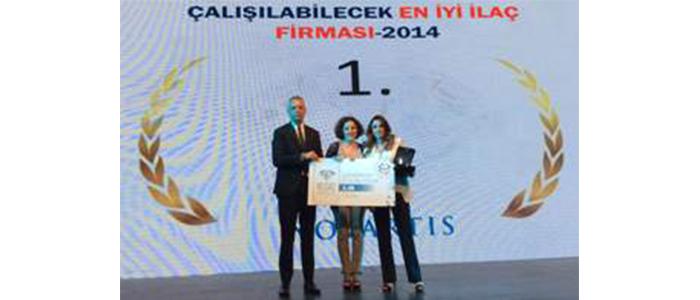Novartis'e İlaç Mümessillerinden Üç Ödül