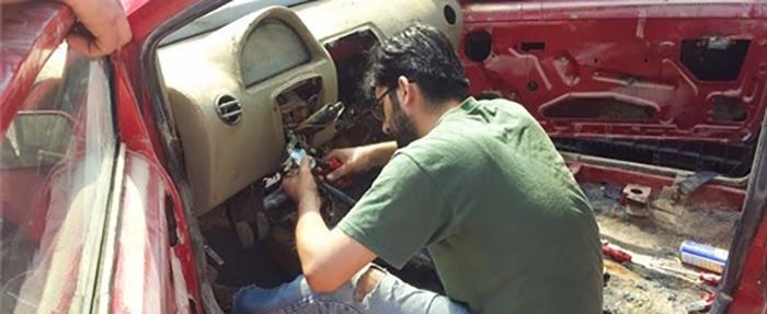 Üniversite öğrencilerinden elektromobil üretimi