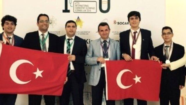 47. Uluslararası Kimya Olimpiyatı'na Atatürk Üniversitesi Damgası