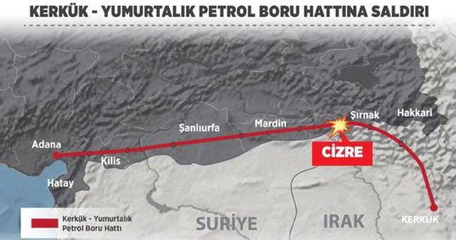 PKK saldırıları nedeniyle petrol ihracı yüzde 6,5 düştü