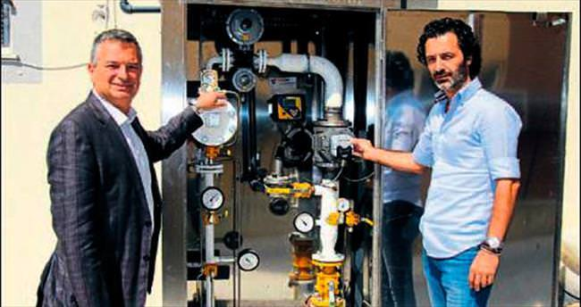 Bucalı sanayiciye enerji avantajı