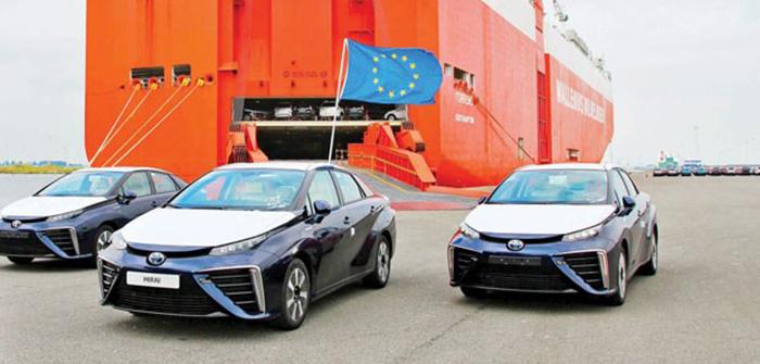 Hidrojen yakıtlı ilk seri üretim otomobil