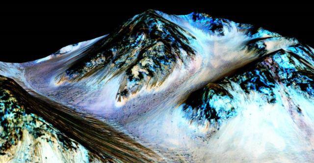 NASA Mars'ta Su Buldu