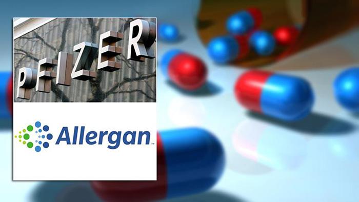 Pfizer ve Allergan dünyanın en büyük ilaç şirketi için birleşiyor