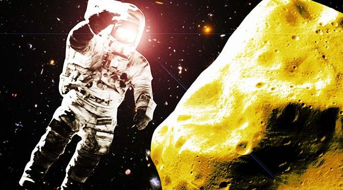 ABD uzaydaki altın için yasa çıkardı