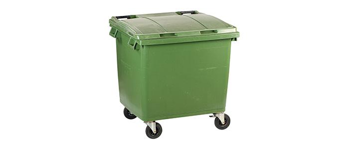 Çöp konteynerinde kimyasal madde alarmı