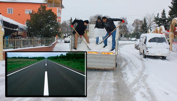 Türk Bilim İnsanları Buz Tutmayan Asfalt Keşfetti