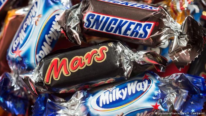 Mars çikolatadan plastik çıktı