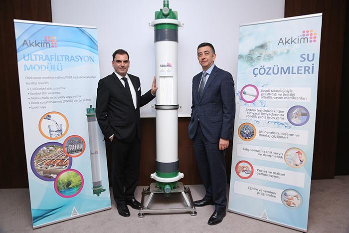 AK-Kim'den Su Filtrasyonuna 35 Milyon Dolarlık Yatırım