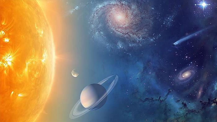 Süper Dünya'da hidrojen ve helyum bulundu