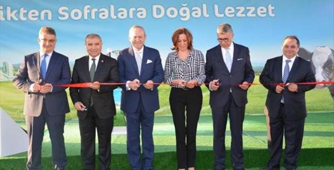 Sütaş'ın Biyogaz ve Elektrik Enerjisi Üretim Tesisi açıldı