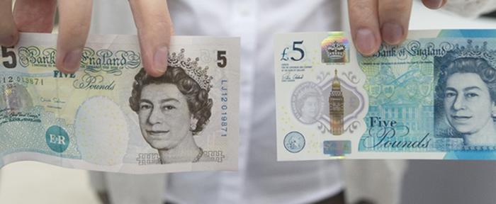 """İngiltere'den İlk """"Polimer"""" Banknot"""