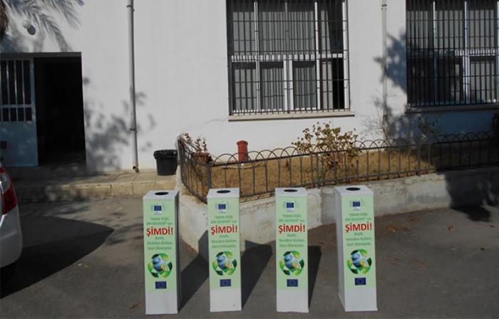 Avrupa Komisyonu pil toplama kutularını okullara dağıtıyor