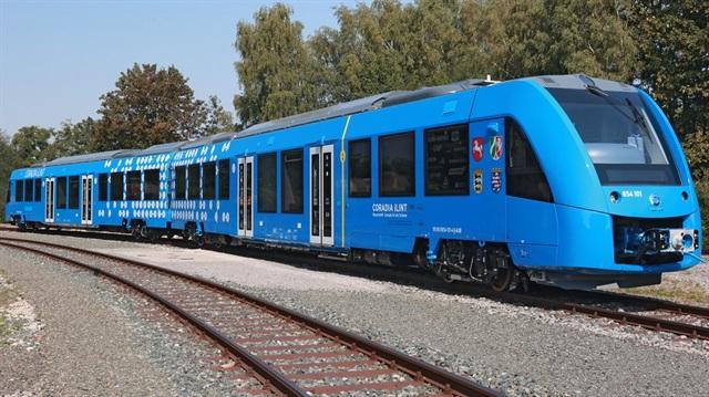 Hidrojenle çalışan tren üretiliyor
