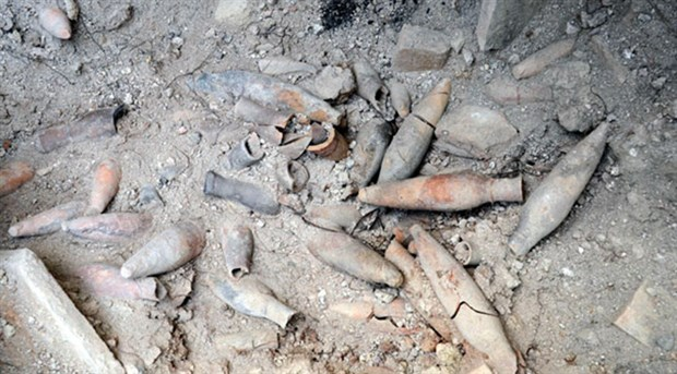 İstanbul Avcılar'da 1400 yıllık ilaç şişeleri bulundu