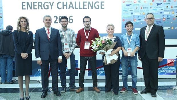 """""""Energy Challenge"""" birinci takımı ODTÜ oldu"""