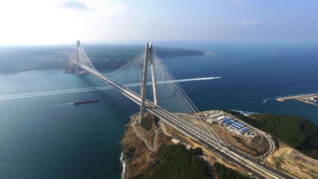 Yavuz Sultan Selim Köprüsü'ne Polimer Beton