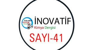 İnovatif Kimya Dergisi Sayı-41