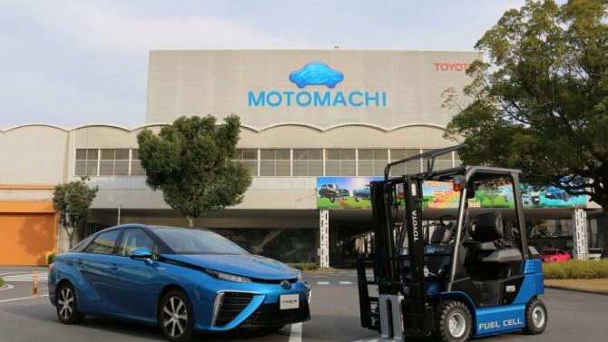 Toyota, hidrojenle çalışan forklift kullanmaya başladı