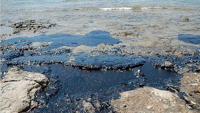 Petrol sızıntıları süngersi materyalle temizlenebilecek