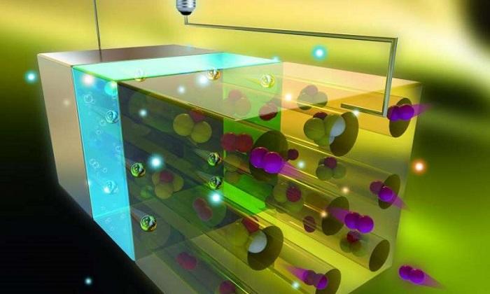 Atmosferik azot tarafından çalıştırılan pil prototipi