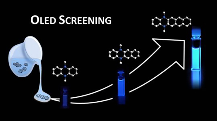 Organik ışık yayan diyotlar için moleküler kütüphaneler