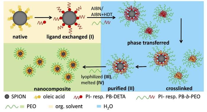 Süperparamanyetik Nanokompozitler Homojen mi Oluyor?