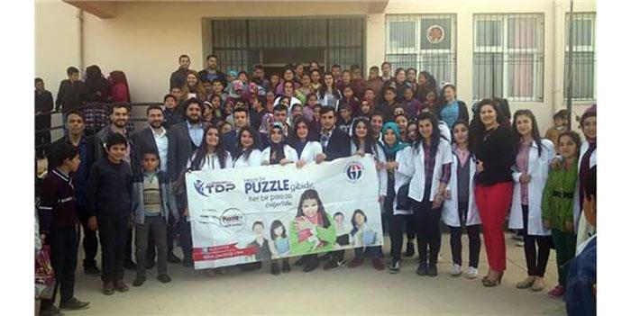 Tdp'den Öğrencilere Kimyayı Sevdiren Proje