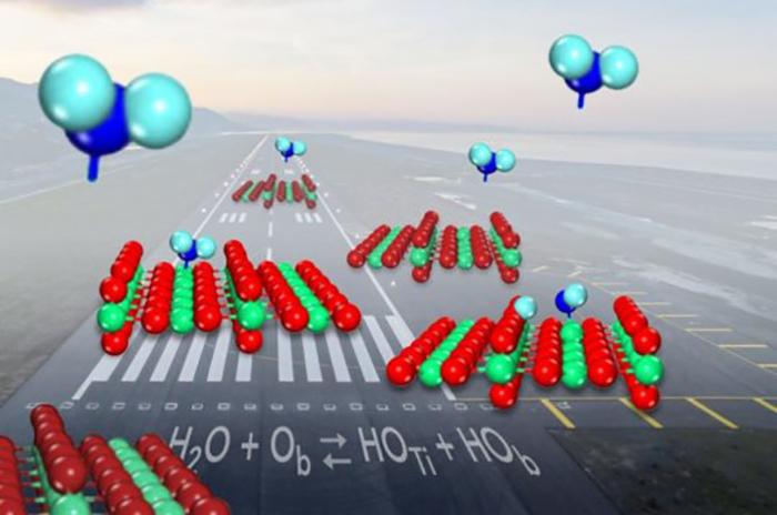"""Titanyum oksit ile ilgili önemli sorun olan """"su etkileşimleri"""" giderildi"""