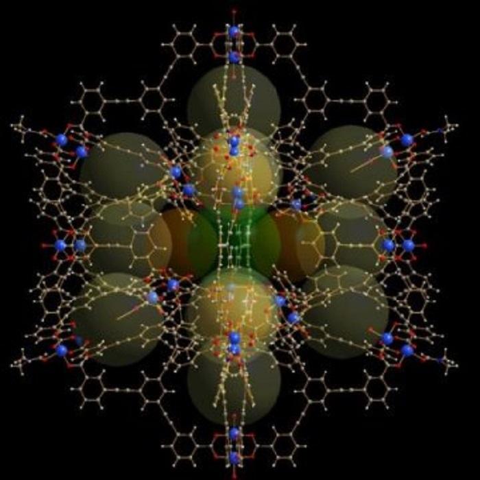 Enerji Dönüşümü ve İlaç Taşınımında Rol Oynayan Dev Moleküler Kafesler