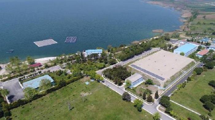Türkiye'nin İlk Yüzer Güneş Enerji Santrali Büyükçekmece Gölü'nde