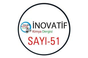 inovatifkimyadergisisayi51 310x205 - İnovatif Kimya Dergisi Sayı-51