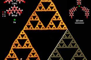 molekuller buyuk fraktal ucgenin icinde uretildi 310x205 - Moleküller Büyük Fraktal Üçgenin İçinde Üretildi