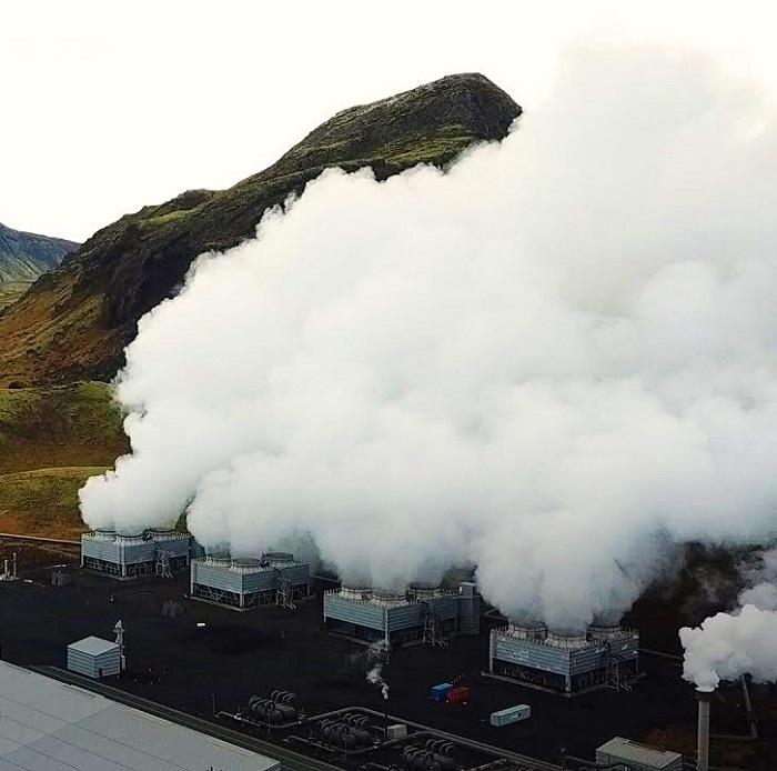 İzlanda'dan İlk Negatif Emisyon Enerji Santrali
