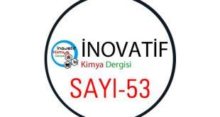 İnovatif Kimya Dergisi Sayı-53