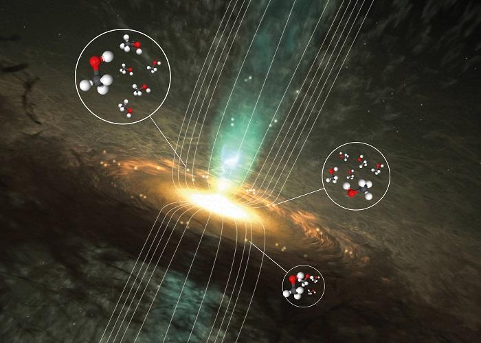 astrokimyacilar metanolun manyetik sirlarini ortaya cikariyor - Astrokimyacılar, Metanolün Manyetik Sırlarını Ortaya Çıkarıyor